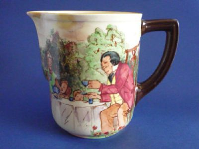 Royal Doulton 'A Hundred Years Ago' Series Ware Quorn Jug D5499 c1934
